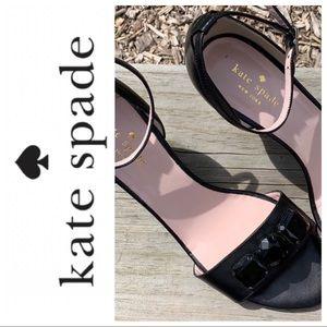 Kate Spade ♠️ Ankle strap wedge heels sandals